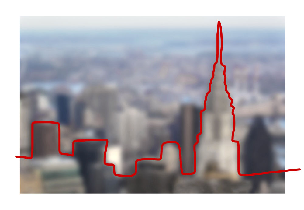 BlurryLine - Chrysler Building by AnitaM (creative consultant)