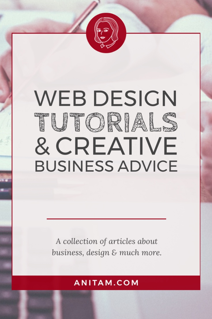 AnitaM | Web Design Tutorials & Creative Business Advice