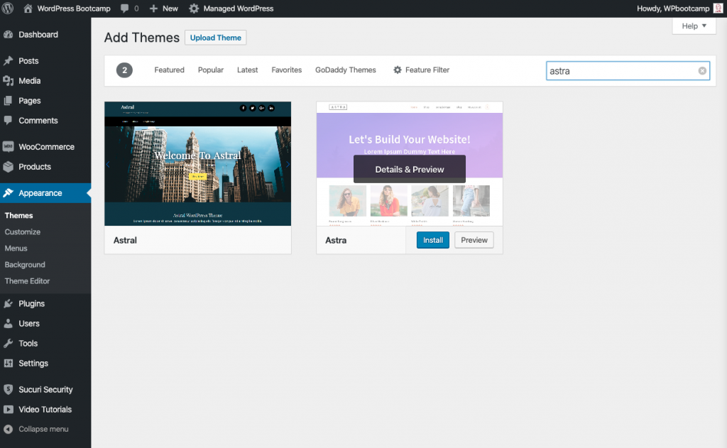 Add New WordPress Theme | AnitaM