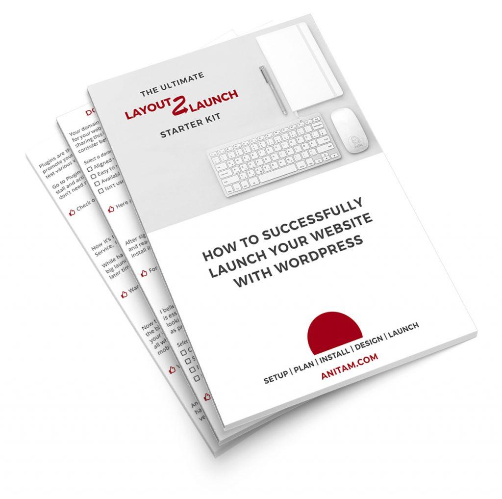 Layout 2 Launch WordPress Starter Kit | AnitaM