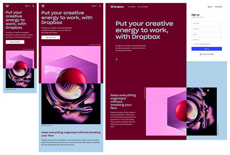 AnitaM | Responsive Web Design