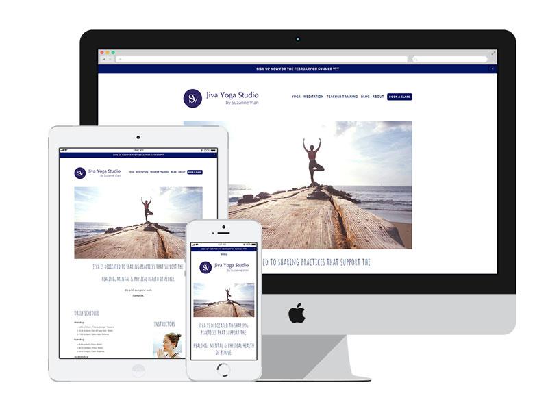 AnitaM Web Design - Jiva Yoga Saigon