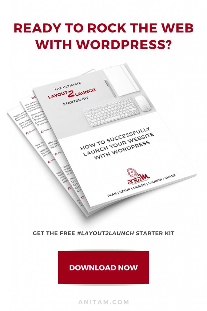 Download WordPress Starter Kit for FREE | AnitaM
