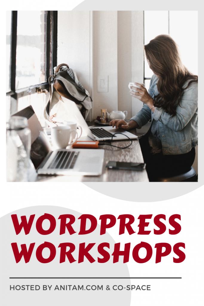 WordPress Workshops in Vietnam | AnitaM