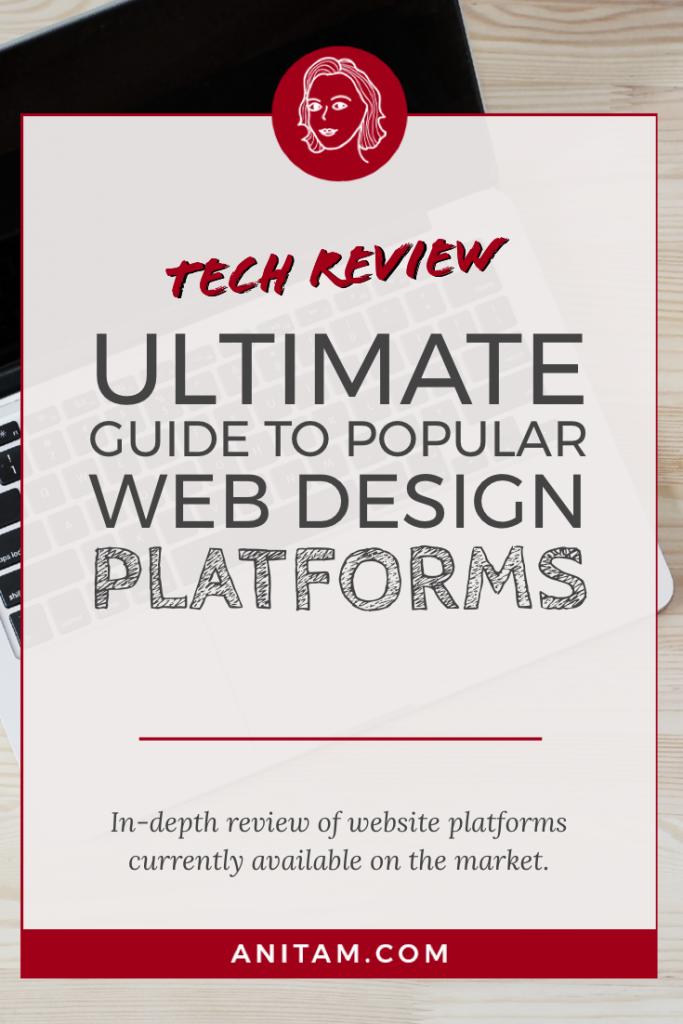Tech Review: Do-It-Yourself Web Design Platforms | AnitaM