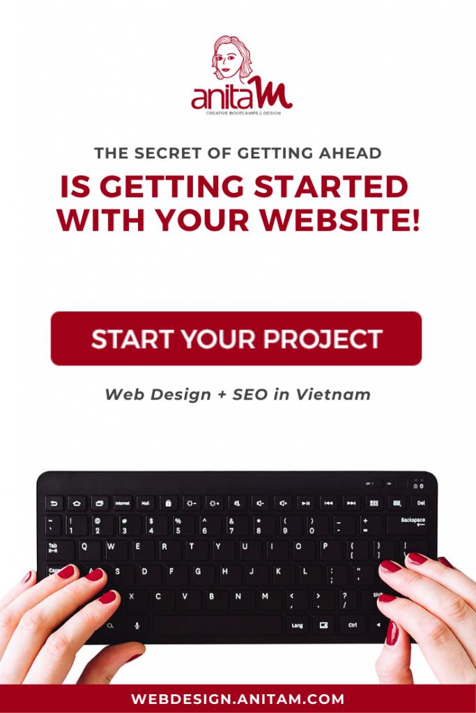 Web Design & SEO in Vietnam | AnitaM