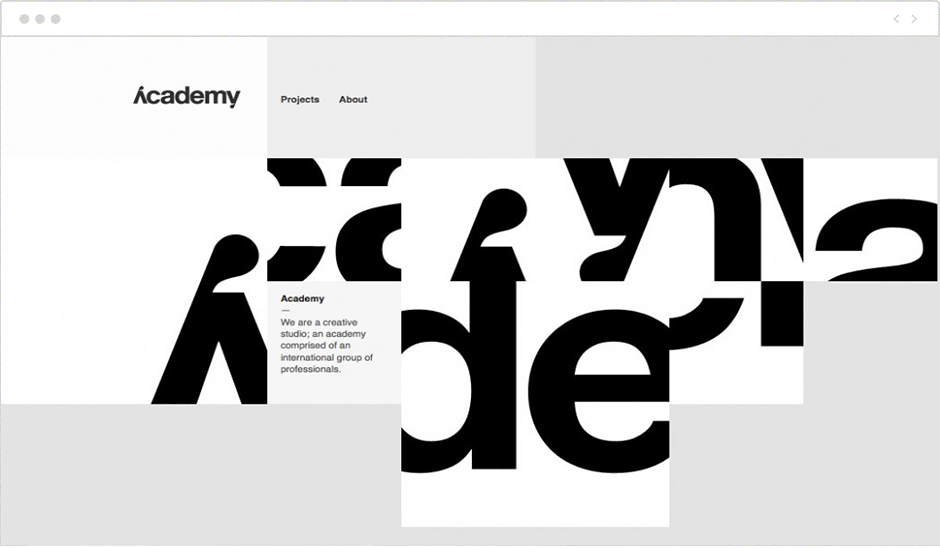 Big Typeface & Whitespace in Web Design 2020 | AnitaM