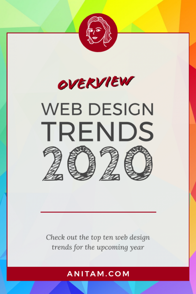 Web Design Trends 2020 | AnitaM