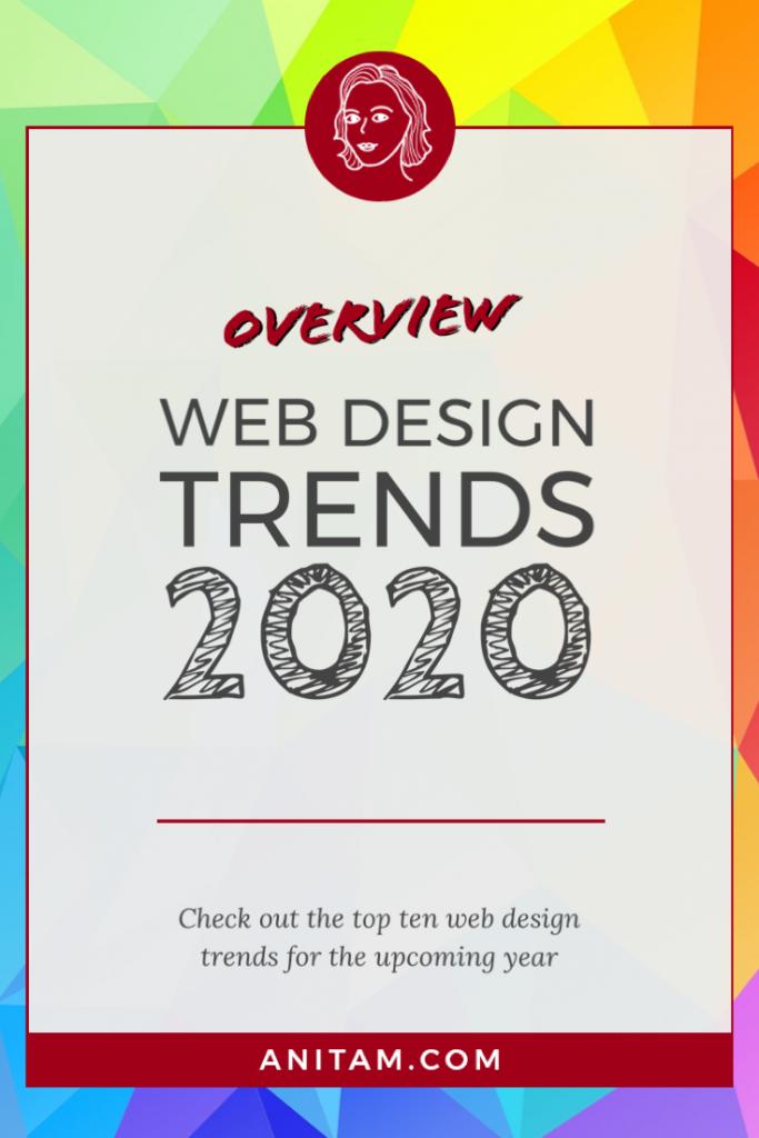 Web Design Trends 2020 | AnitaM